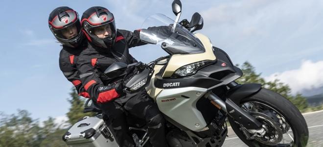 Motos. Ducati presenta en nuestro mercado la Multistrada 1260 Enduro, con novedades de equipamiento y motor de 158,3 hp
