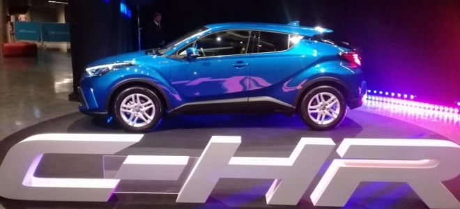 Lanzamiento. Toyota Argentina presentó el C-HR, un crossover híbrido con motor combinado de 122 CV. Mirá los PDF