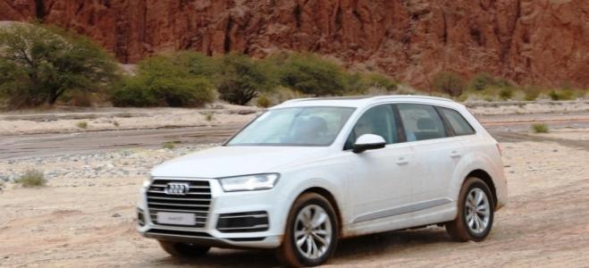 Lanzamiento. Audi Argentina presenta el SUV grande Q7, con motores naftero y turbodiesel