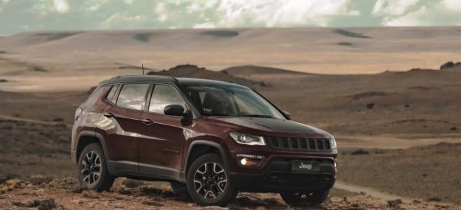 Lanzamiento. Jeep Argentina presenta el Compass Trailhawk TD Multijet II, con motor de 170 CV y caja automática de 9 marchas