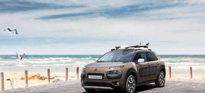 Lanzamiento. Citroën introduce en la Argentina la versión Rip Curl del C4 Cactus, con el mismo motor de 110 CV y detalles de equipo