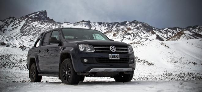 Volkswagen presenta en nuestro mercado la versión especial Amarok Dark Label