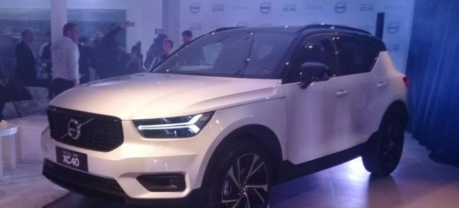 Lanzamiento. Volvo presenta en la Argentina la nueva XC40, primer SUV compacto, con motores nafteros de 190 y 240 caballos de potencia
