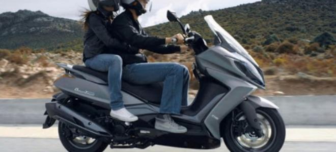 Motos. Kymco presenta en el mercado de la Argentina la scooter Downtown 350i, con motor de 28,5 CV
