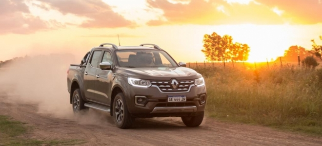 Lanzamientos. Renault Argentina presenta oficialmente la Alaskan, pickup mediana con motores TD de 160 y 190 CV. Ficha Técnica