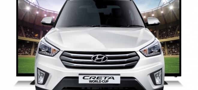 Lanzamiento. Hyundai Argentina presenta en nuestro mercado el Creta World Cup MY2018, con el que ofrece un televisor de regalo