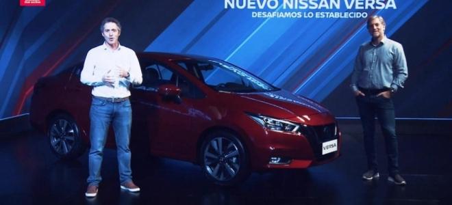 Lanzamiento. Nissan Argentina presenta en nuestro mercado el Versa, con gran equipamiento y motor naftero de 119 CV