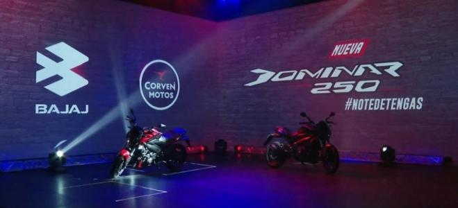 Motos. Bajaj Argentina presenta la Dominar 250, de la gama Sport Tourer, con buen equipamiento y motor de 27 caballos