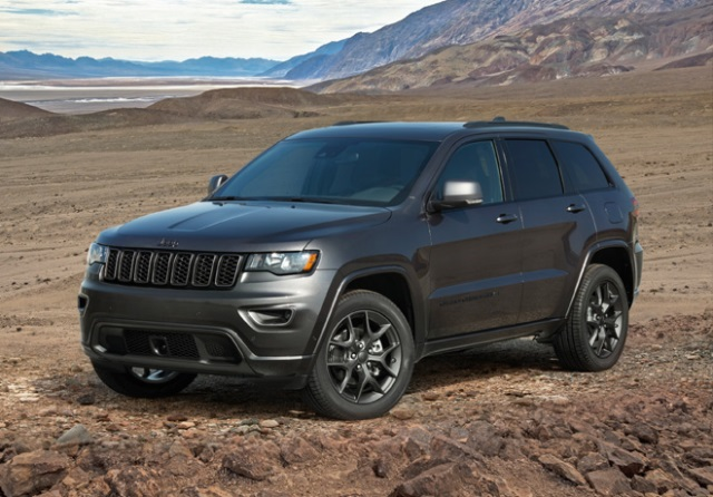Jeep 80 años Grand Cherokee