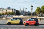 Estarán disponibles para pruebas de manejo al público, los flamantes smart fortwo y smart forfour