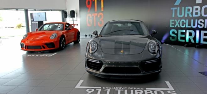 Lanzamiento. Porsche Argentina presenta en nuestro mercado el 911 Turbo S Exclusive Series y 911 GT3, y adelantó la llegada del nuevo Cayenne