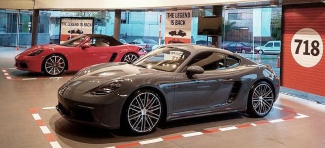 Lanzamiento. Porsche presentó en la Argentina los 718 Boxster y 718 Cayman, deportivos con motores de 300 y 350 caballos