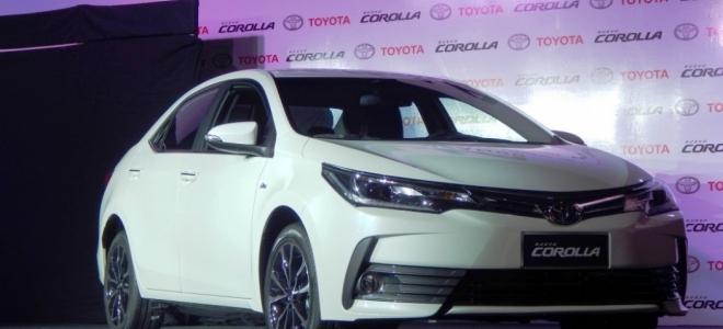 Lanzamiento. Toyota presenta en la Argentina el rediseño del Corolla, el sedan mediano con motor naftero de 140 CV. Mirá el Video