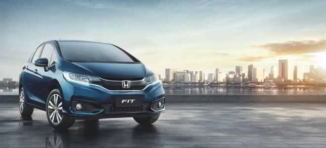 Lanzamiento. Honda presenta en la Argentina el Fit 2019, renovada tercera generación del compacto, con motor naftero de 120 CV