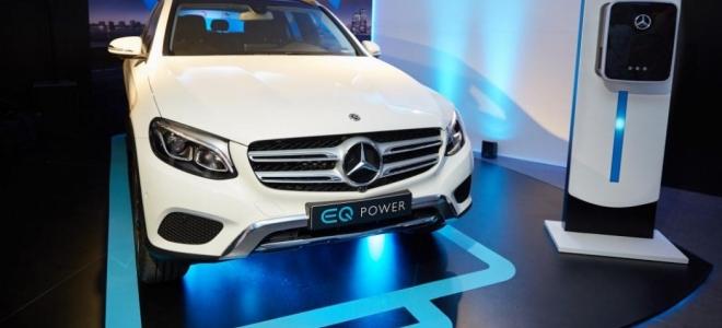 Lanzamiento. Mercedes-Benz lanza en la Argentina la marca EQ, con la presentación del GLC 350e 4Matic, con motor híbrido enchufable