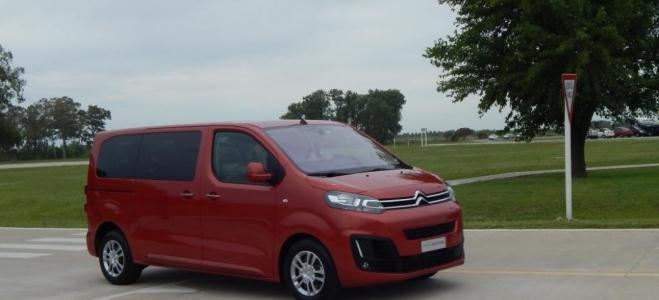 Lanzamiento. Citroën Argentina presenta la Spacetourer, para ocho pasajeros, con motor HDI de 150 caballos. Video