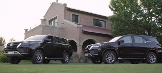 Lanzamientos. Toyota Argentina presenta la SW4 MY21, con novedades de equpamiento de confort y seguridad, y el mismo motor