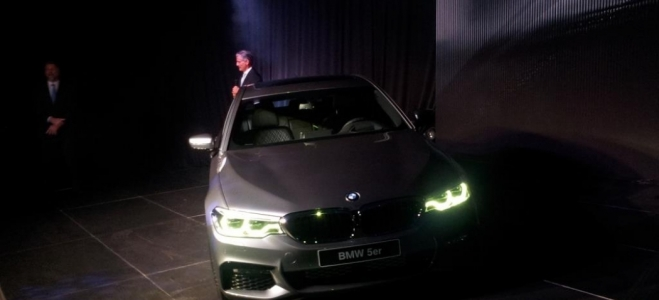 Lanzamiento. BMW Argentina realizó la presentación de la séptima generación del Serie 5, con motor de 350 CV. Mirá el Video