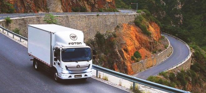 Lanzamiento. Presentan en la Argentina el Foton Aumark, el nuevo camión de la marca, con motores nafteros de 150 y 156 caballos