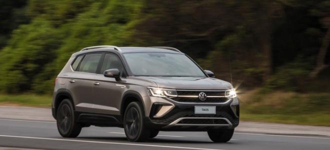Lanzamiento. Volkswagen realizó la presentación del Taos, SUV compacto, que se produce en la Argentina con el motor de 150 CV