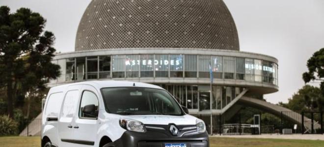 Lanzamiento. Renault ya ofrece en la Argentina el nuevo Kangoo Z.E. que se convierte en el primer vehículo eléctrico de nuestro mercado. Video