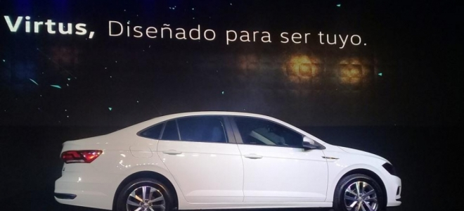 Lanzamiento. Volkswagen presenta en la Argentina el flamante Virtus, un sedan compacto derivado de la plataforma MQB-AO, con motor de 110 CV. Video