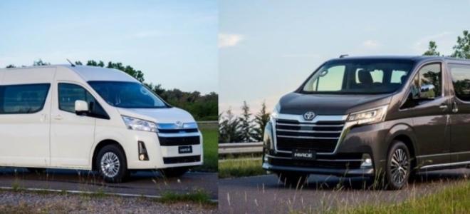 Lanzamientos. Toyota Argentina presenta el utilitario de pasajeros Hiace en versiones Conmuter 13+1 y Wagon 9+1, con motor TD de 177 CV