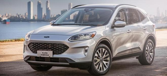 Lanzamiento. Ford Argentina presenta la Kuga Híbrida Titanium, la versión tope de gama de la SUV mediana