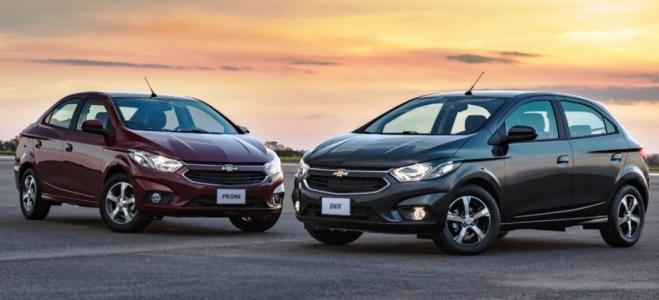 Lanzamiento. Chevrolet presenta en la Argentina los renovados hatchback y sedan Onix y Prisma, con motor de 98 caballos