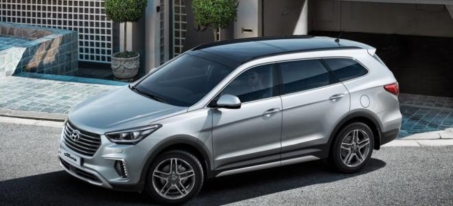 Lanzamiento. Hyundai presenta dos nuevas versiones de la SUV Grand Santa Fe, con motor turbo diesel de 200 CV y naftero de 270 caballos