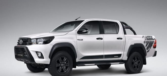 Lanzamiento. Toyota presenta una edición limitada de la Hilux, denominada Limited, con detalles en el exterior y equipamiento