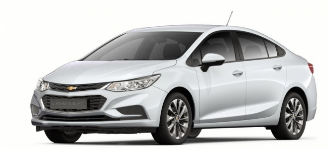 Lanzamiento. Chevrolet Argentina presenta novedades en la gama Cruze, con el Sedan de entrada a la gama, con el motor de 153 caballos