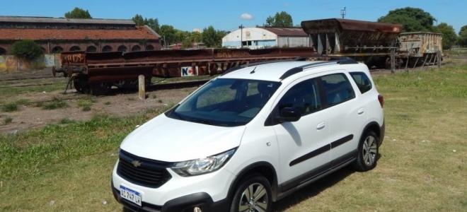 Chevrolet Spin Activ, a prueba. Un monovolumen renovado con buenas prestaciones y capacidad hasta 7 pasajeros