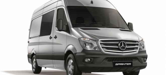 Lanzamiento. Mercedes-Benz presenta una edición especial del 415 CDI Furgón Mixto 3665 Techo Elevado, denominado Sprinter Silver Edition