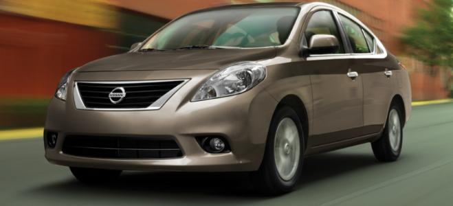 Lanzamiento. Nissan trajo a la Argentina el sedan Versa 2015, con renovado diseño interior y exterior