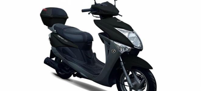 Motos. Corven Motos presenta en nuestro mercado el scooter Expert DOT, con una potencia de 8,3 caballos