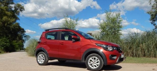Prueba del Fiat Mobi. Debutante entre los city car, con buenas prestaciones y bajo consumo de combustible
