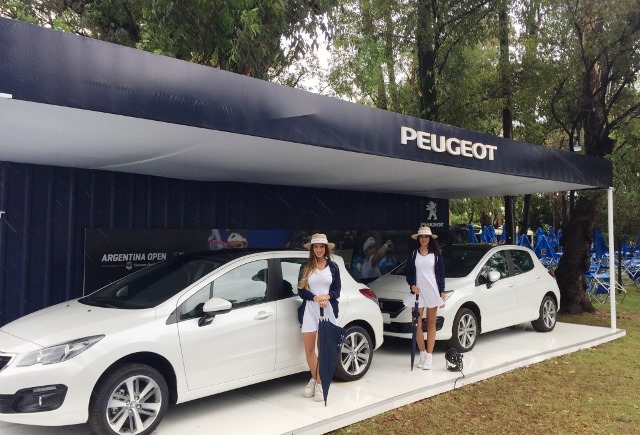 PEUGEOT tenis ARG OPEN 17 STAND