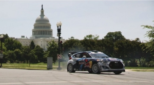 El Hyundai Veloster Turbo, de Rhys Millen, en un espectacular video por las calles de Washington